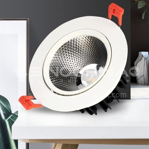 LED recessed ceiling light COB bedroom dining living room spotlight-AD-V701