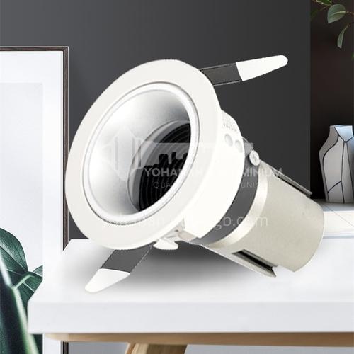 LED spotlights embedded hotel anti-glare ceiling light downlight-AD-X701P