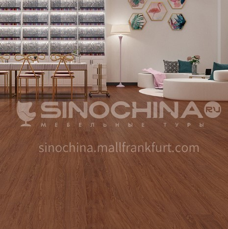 7mm WPC wood plastic floor LM6004-40 bathroom available