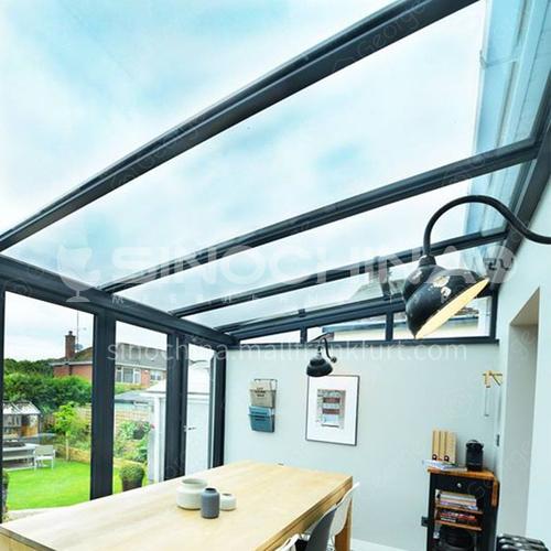 aluminum profile laminated tempered glass  sunroom for sale