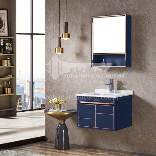 Stainless steel bathroom cabinet combination, bathroom, rock plate stainless steel vanity, hand-washing washbasin cabinet custom WXD-8004A