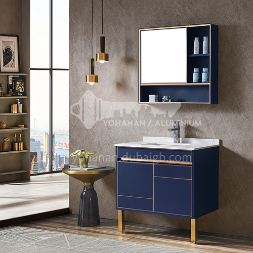 Bathroom stainless steel bathroom cabinet combination WXD-8009