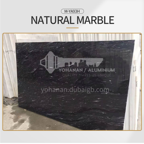Modern light luxury black natural marble M-YA93H