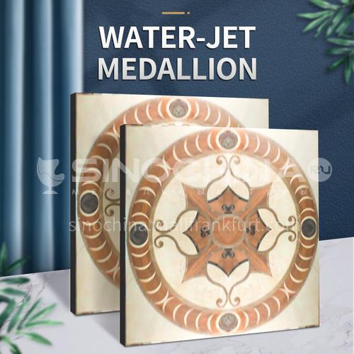 Modern high-end design natural marble stone medallion W-JS3011