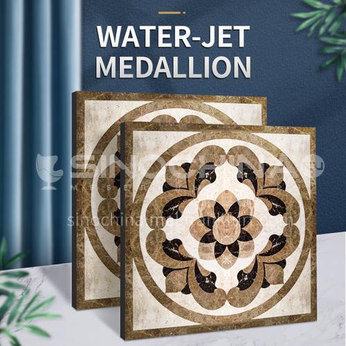 Modern high-end design natural marble stone medallion W-JS3184