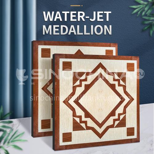 Modern high-end design natural marble stone medallion W-JS3210