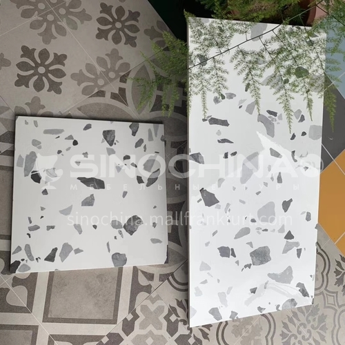 Nordic style tiles color bright terrazzo-ADE23340 300*600mm