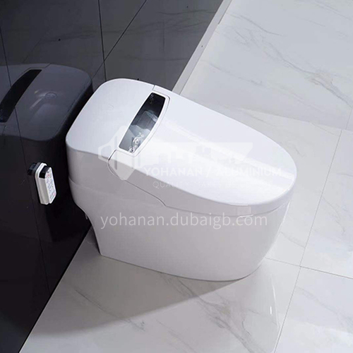 Intelligent toilet integrated automatic household remote control without water tank 8033