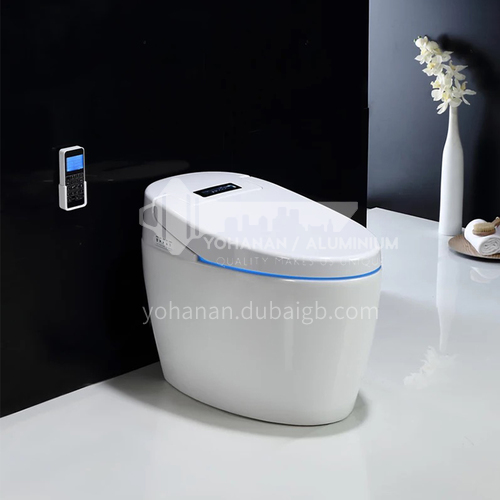Smart toilet integrated automatic household remote control without water tank 8666