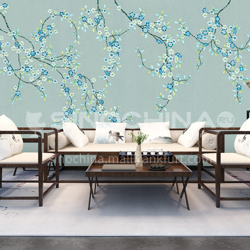 Best-selling modern minimalist style custom wall covering silk painting series 02SA8(11-20)