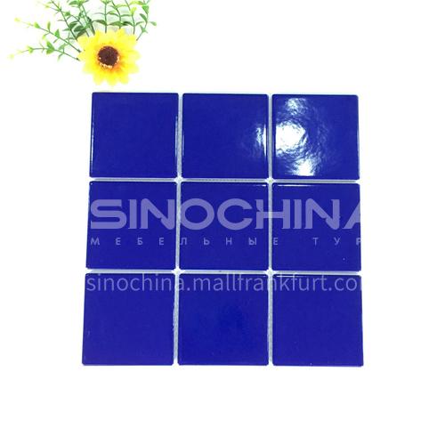 Ceramic swimming pool color mosaic tiles kitchen bathroom toilet wall tiles-ADELGDB 300*300mm