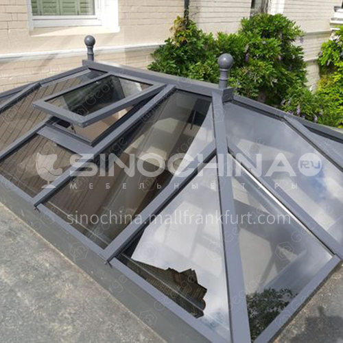 aluminum sunroom garden room glass house with factory wholesale  price and high quality for the globe