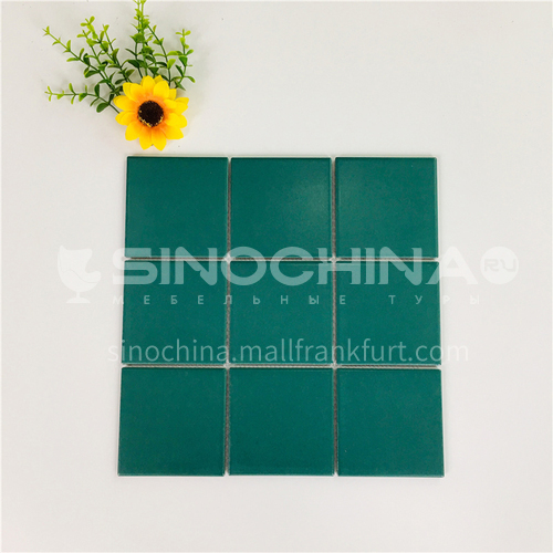 Ceramic swimming pool color mosaic tiles kitchen bathroom toilet wall tiles-ADEYGDG 300*300mm