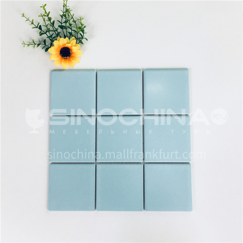Ceramic swimming pool color mosaic tiles kitchen bathroom toilet wall tiles-ADEYGLB 300*300mm