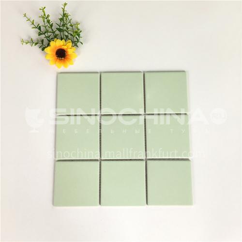 Ceramic swimming pool color mosaic tiles kitchen bathroom toilet wall tiles-ADEYGLG2 300*300mm