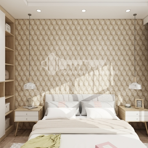 Wallpaper,PVC Wallpaper,Waterproof, Wall decoration,Modern and simple style, 3D design, 971501-971506