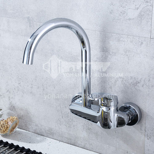 All copper vegetable basin in-wall faucet 8100C