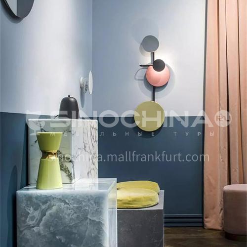 Italian creative original film living room wall lamp art study living room designer model room wall lamp YDH-7092