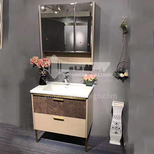 90CM solid wood bathroom cabinet 60868