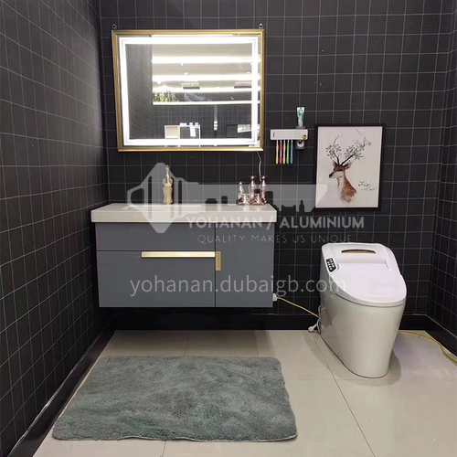 1000CM multilayer solid wood bathroom cabinet 60896