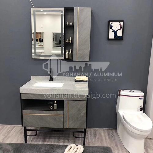 80CM multi-layer solid wood bathroom cabinet 60899