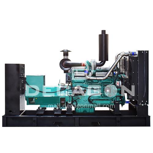 200kw Shanghai Kaipu diesel generator set fully automatic hotel hospital spare building quark  DQ001109