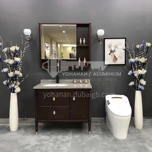 80CM oak bathroom cabinet 60900