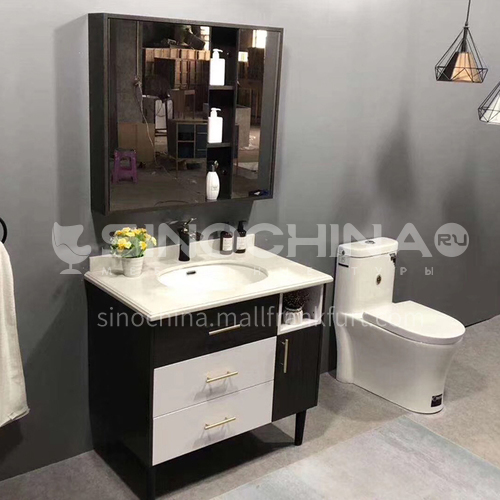 80CM oak bathroom cabinet 60901