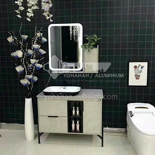 80CM Multilayer Solid Wood Bathroom Cabinet 60903