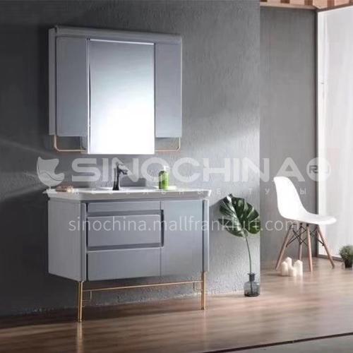 80CM Simple Modern Bathroom Cabinet PVC Bathroom Cabinet 60904