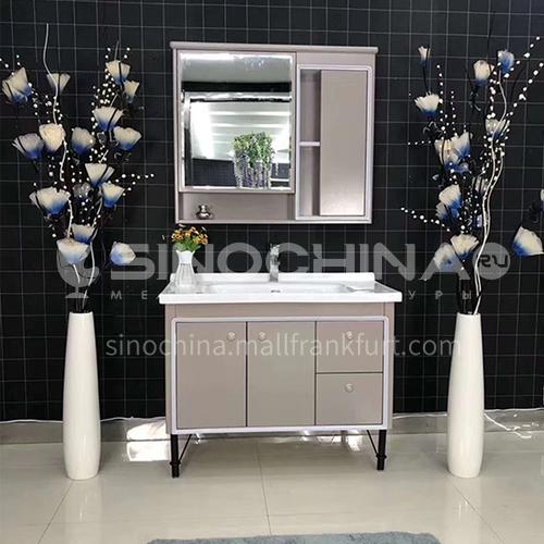 80CM simple modern bathroom cabinet PVC bathroom cabinet 60905