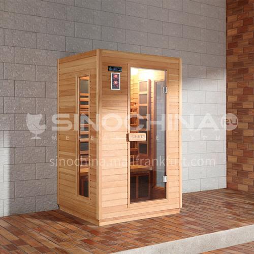 Non-standard customized multi-person sauna room Khan steam room dry steam room equipment Sauna room customization AO-101