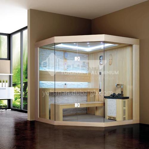 Non-standard customized multi-person sauna room Khan steam room dry steam room equipment Sauna room customization AO-102