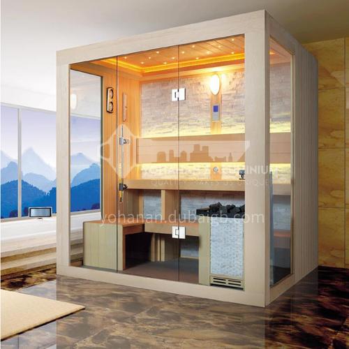 Non-standard customized multi-person sauna room Khan steam room dry steam room equipment Sauna room customization AO-103