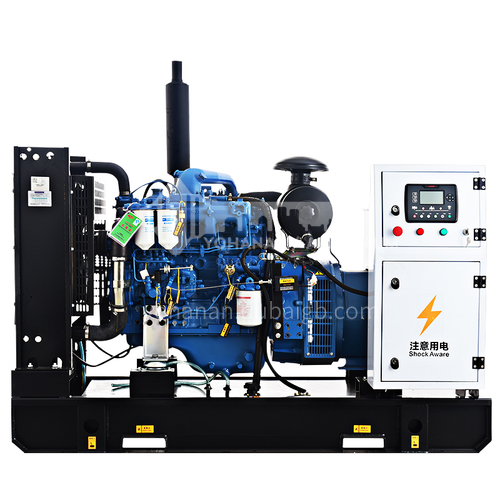Guangxi Yuchai 30kw automatic diesel generator set building hotel hospital breeding factory ground quark  DQ001117