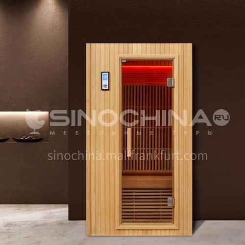 Non-standard customized multi-person sauna room Khan steam room Dry steam room equipment Sauna room customization AO-104