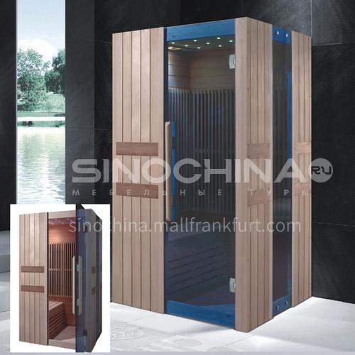 Non-standard customized multi-person sauna room Khan steam room Dry steam room equipment Sauna room customization AO-8037