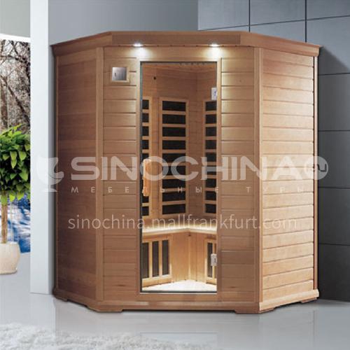 Non-standard customized multi-person sauna room Khan steam room Dry steam room equipment Sauna room customization AO-8038