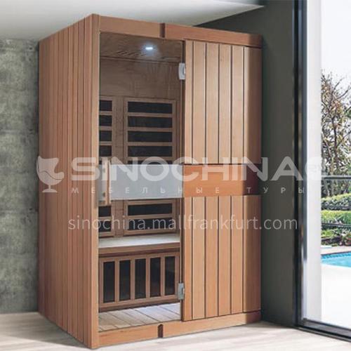 Non-standard customized multi-person sauna room Khan steam room Dry steam room equipment Sauna room customization AO-8039