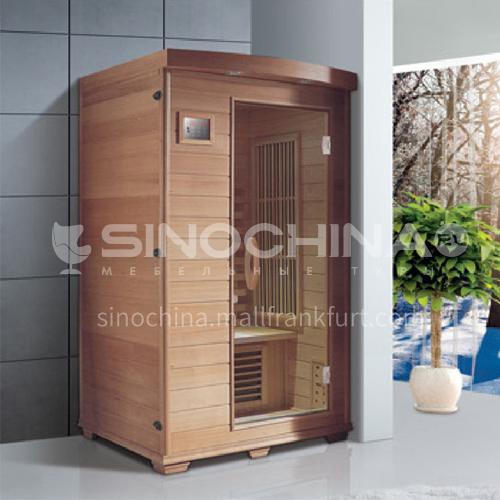 Non-standard customized multi-person sauna room Khan steam room Dry steam room equipment Sauna room customization AO-8041