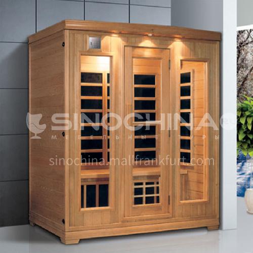 Non-standard customized multi-person sauna room Khan steam room Dry steam room equipment Sauna room customization AO-8042