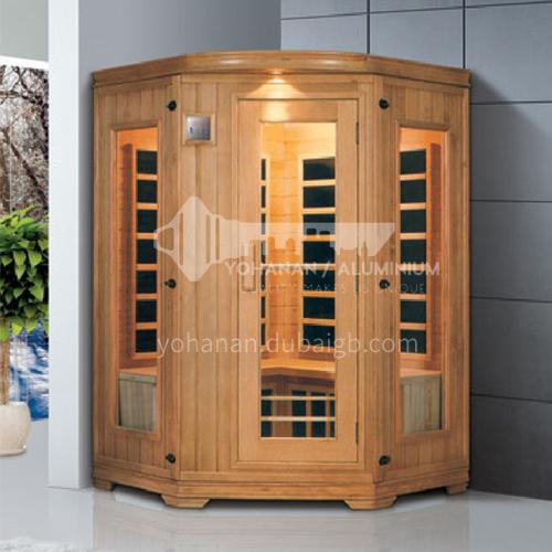 Non-standard customized multi-person sauna room Khan steam room Dry steam room equipment Sauna room customization AO-8043