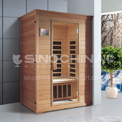 Non-standard customized multi-person sauna room Khan steam room Dry steam room equipment Sauna room customization AO-8045