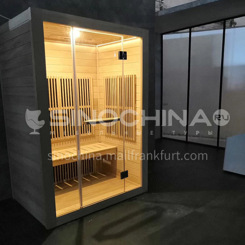 Non-standard customized multi-person sauna room Khan steam room Dry steam room equipment Sauna room customization AO-8046