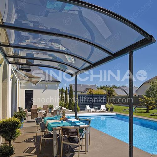 aluminum glass sunroom drawing veranda sunroom glass house