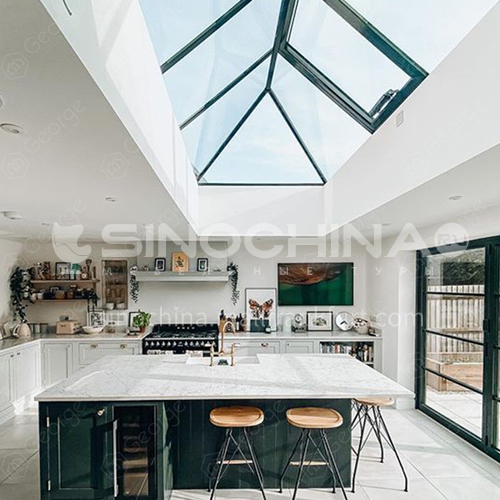 aluminum garden greenhouse retractable sunroom