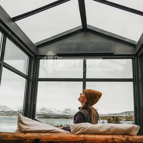 good heat insulation aluminum sunroom sun room