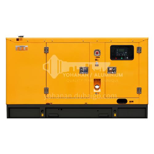 Hotel Silent 60KW Weichai Diesel Generator Set Site Inn Wild Quark  DQ001123