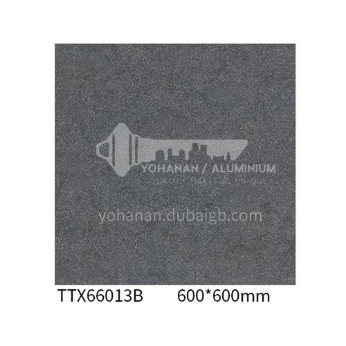 Simple whole body slate floor tiles Cement gray tiles Hotel non-slip antique tiles-ADETTX66013B   600*600mm