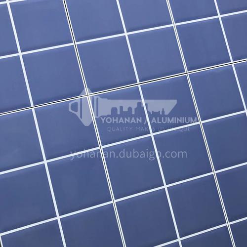 Blue checkered bricks, colorful bright wall tiles, bathroom tiles-ADE Checker tile(blue) 300x600mm